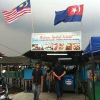 Photo taken at Senibong Village Seafood by matt s. on 8/28/2012