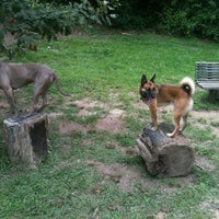 Photo taken at Oakhurst Dog Park by Atlanta D. on 7/18/2011