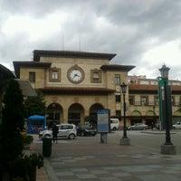 Photo taken at Estación de Oviedo by Simona B. on 7/13/2012