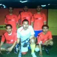 Photo taken at Score Futsal Purbalingga by Yanu H. on 12/7/2011