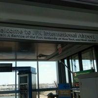 Photo taken at JFK AirTrain - Lefferts Boulevard by Sweetie L. on 4/9/2012