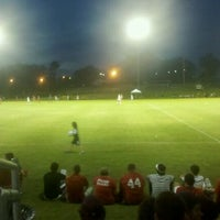 Photo taken at Morgan Brothers Soccer Field by Amy C. on 8/31/2011