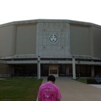 Photo taken at Reed Arena by Philip R. on 4/9/2011