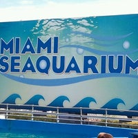 Photo taken at Miami Seaquarium by Lauren W. on 10/12/2011