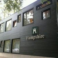 Photo taken at Hampshire Hotel - Mooi Veluwe by Gooss on 8/30/2011