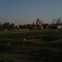 Photo taken at Tungsram sporttelep by Adam T. on 8/27/2011