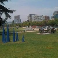 Photo taken at Parque de las Esculturas by Leonardo Z. on 1/6/2012