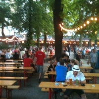 Photo taken at Pratergarten by Frank G. on 8/26/2011