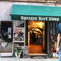 Photo taken at Varazze Surf Shop by mattia c. on 4/26/2011