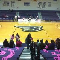Photo taken at Merkert Gym/Student Center - Stonehill College by JP K. on 2/11/2012