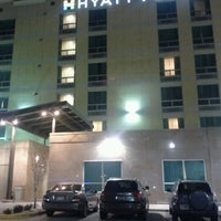 Photo taken at Hyatt Place Salt Lake City/Downtown/The Gateway by Alex J. on 1/6/2012