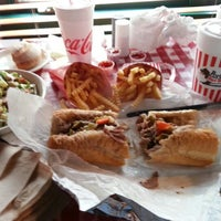 Photo taken at Portillo's by Drew S. on 7/22/2012