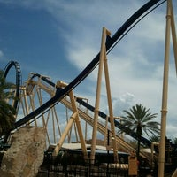 Photo taken at Montu by Lauren A. on 8/7/2011