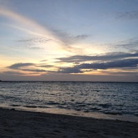 Photo taken at Salad Beach Resort by Xav B. on 8/31/2012