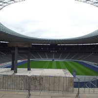Photo taken at Olympiastadion by Jorma M. on 6/26/2012