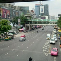 Photo taken at Ratchaprasong Intersection by Coconattie N. on 10/7/2011