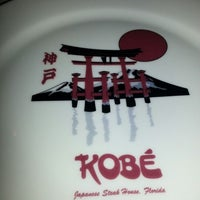 Photo taken at Kobe Japanese Steakhouse & Sushi Bar by Stacey L. on 8/19/2012