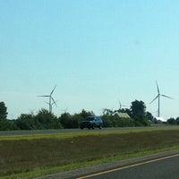 Photo taken at Paulding County Wind Turbine #1 by Dan M. on 8/13/2011
