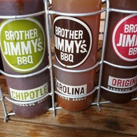 Photo taken at Brother Jimmy's BBQ by David on 9/2/2012
