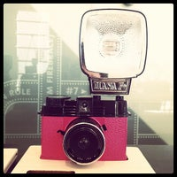 Photo taken at Lomography Gallery Store by LinkTree on 6/26/2012