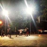 Photo taken at Pertama Basketball Court by Keat L. on 5/28/2012