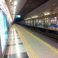 Photo taken at Metro Hernando de Magallanes by Rodrigo M. on 5/28/2012