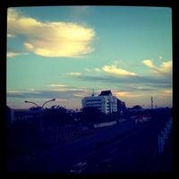 Photo taken at Flyover Urip Sumoharjo by Sandy S. on 8/20/2012