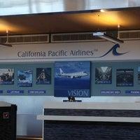 Photo taken at McClellan-Palomar Airport (CLD) by Sean M. on 2/22/2012