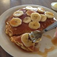 Photo taken at Aunt Martha's Pancake House by Jen W. on 8/9/2012