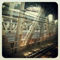 Photo taken at MTA Subway - Manhattan Bridge (B/D/N/Q) by Ricardo J. S. on 7/11/2012