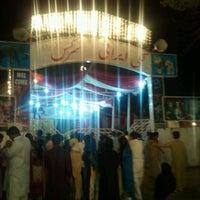 Photo taken at Nawaz Sharif Park by Humayun M. on 8/20/2012