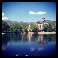 Photo taken at The Broadmoor by Lauren on 5/14/2012