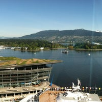 Photo taken at Pan Pacific Vancouver by Cindy S. on 5/12/2012