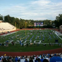 Photo taken at Brooks Field at Wallace Wade Stadium by Jeff on 9/1/2012