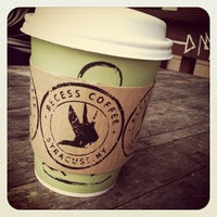 Photo taken at Recess Coffee House & Roastery by Cara K. on 4/30/2012