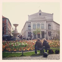 Photo taken at Gärtnerplatz by Norman on 4/21/2012