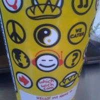 Photo taken at Which Wich? Superior Sandwiches by Vanessa on 7/31/2012