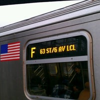 Photo taken at MTA Subway - F Train by Stan K. on 2/29/2012