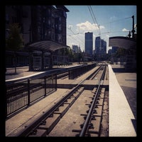 Photo taken at Baylor Medical Center Station (DART Rail) by Paula R. on 8/5/2012