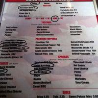 Photo taken at Basement Burger Bar by Zaria S. on 9/2/2012