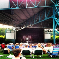Photo taken at Veterans United Home Loans Amphitheater at Virginia Beach by Chuck H. on 7/3/2012