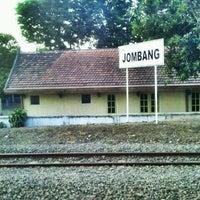 Photo taken at Stasiun Jombang by Haris D. on 8/26/2012