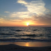 Photo taken at Pass-a-Grille Beach by Suzanne A. on 4/2/2012