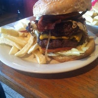 Photo taken at American Burger by Federico R. on 7/6/2011