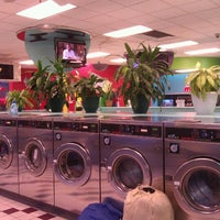 Photo taken at Bubbleland Laundromat by Johnny C. on 12/4/2011