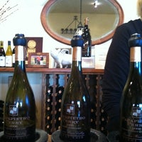Photo taken at Papapietro Perry Winery by Michael R. on 10/8/2011