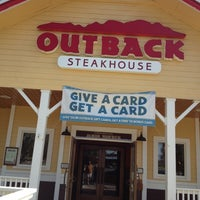 Photo taken at Outback Steakhouse by Georgeine D. on 5/7/2012