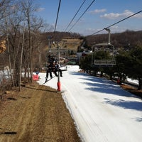 Photo taken at Bear Creek Mountain Resort and Conference Center by Michael P. on 2/17/2012