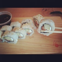 Photo taken at Sushi Tai by Andrew F. on 4/20/2012