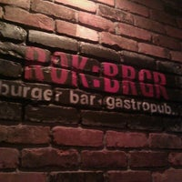 Photo taken at ROK:BRGR by Elizabeth on 5/31/2011